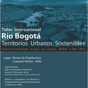 Afiche Rio Bogota